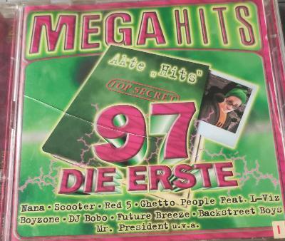 CD MEGA HITS 97 - DIE ERSTE-2CD