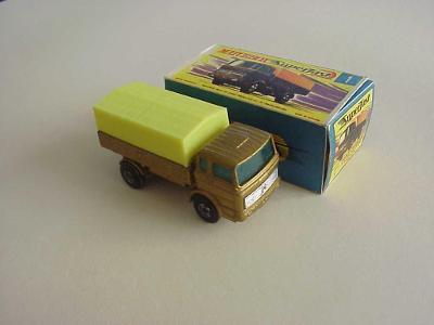 Originál Matchbox SF Nr. 1 MERCEDES TRUCK + krabička