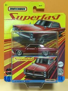 1964 Pontiac Grand Prix - Matchbox Superfast 14