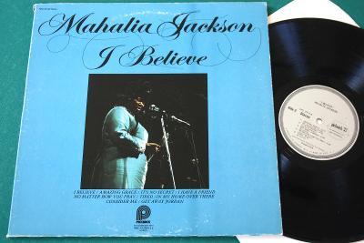MAHALIA JACKSON - I believe - top stav - USA 1966 - LP