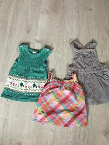Šaty holčička 74-80