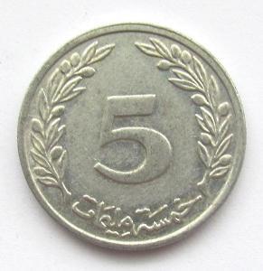 Tunisko 5 mill 1997