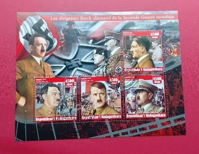 Aršík -  ANTANANARIVO - Německé téma   Hitler (24 - 154)