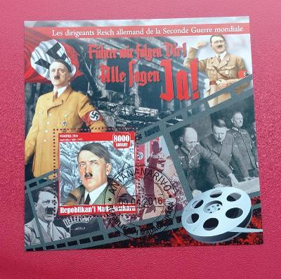 Aršík - ANTENANARIVO  - Německé téma  Hitler  (24 - 166)
