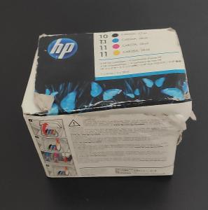 Nové - Sada originálních náplní HP 11(10) cyan, magenta, žlutá a černá