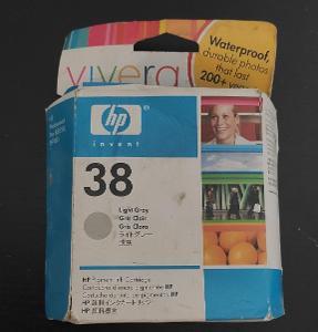 Originální HP 38 Light Gray