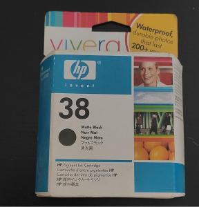 Originální HP 38 Matte Black