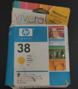Originální HP 38 Yellow