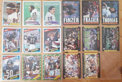 Americký fotbal NFL lot 1983 - 1987