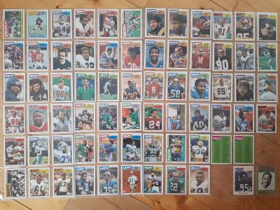 Americký fotbal NFL lot Topps 1987
