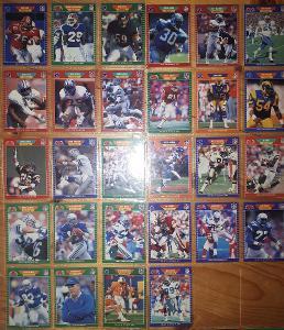 Americký fotbal NFL lot 1989 Pro Set