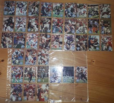 Americký fotbal NFL lot Pro Set 1991