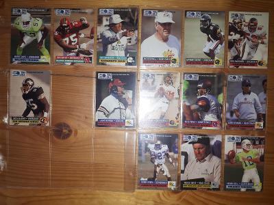 Americký fotbal NFL lot 1991 Pro Set
