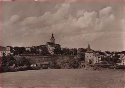 Stříbro * opevnění, městská brána, část města * Tachov * V343