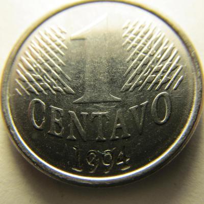 Brazílie 1 Centavo z roku 1994
