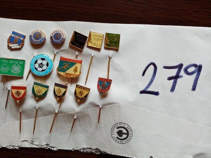 Odznaky Spartak Vlašim - Faleristika