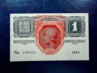 1 Kronen 1916 aUNC