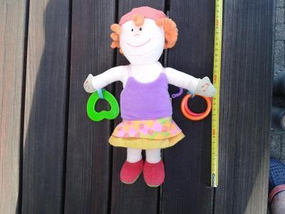 Textilní panenka pro nejmenší - TOP stav