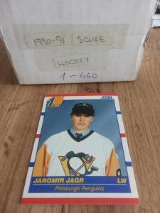 Kompletní set karet Score 90/91 (440 karet)