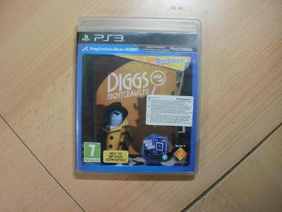 Hra na Ps 3 - Wonderbook - Diggs Nightcrawler - Český dabing