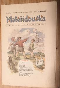 Mateřídouška 1956 číslo 10