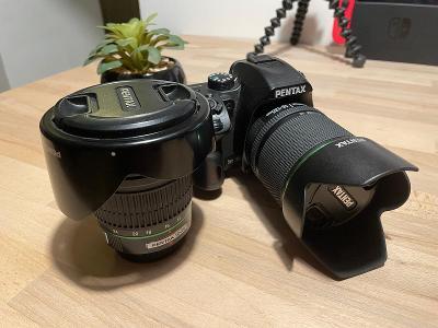 Fotoaparát Pentax K-70 + 18-135mm + 12-24mm