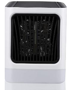 Přenosný přímotop a ventilátor 2v1 Tliclxy - 800 W, bílá