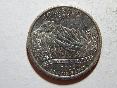 USA 1/4 Dollar 2006 D Colorado UNC č25067