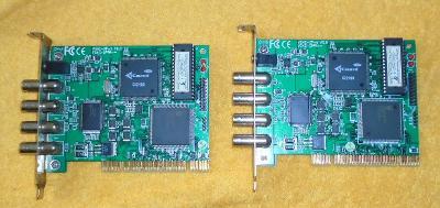 2xCCTV KARTA GUARD VG4C-XP-V V0.0 PCI 4xVSTUP PRO KAMERU FUNKČNÍ