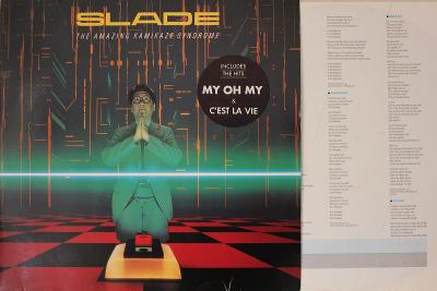 Slade – The Amazing Kamikaze Syndrome LP 1984 vinyl Germany 1.p NM