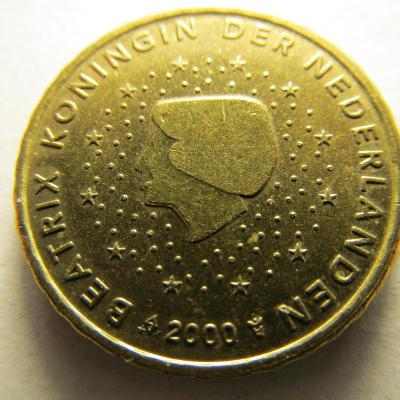 Euromince - Nizozemsko 10 Eurocent - 2000