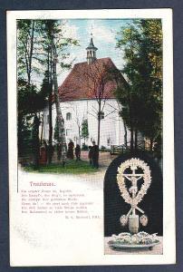 Trutnov - Kaplička a krucifix, válka 1866
