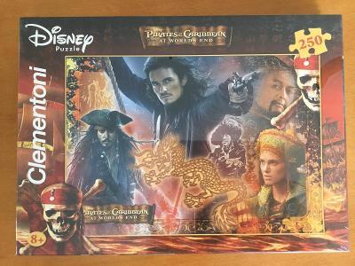 Puzzle Piráti z Karibiku 250 dílků - nové