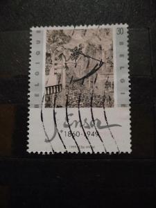 Belgie, James Ensor, obraz Triumf nad smrtí