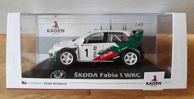 KADEN FABIA 1 WRC  CELOKOVOVÝ MODEL!!!