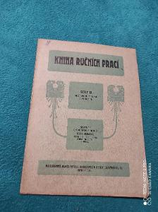 Kniha Ručních prací / Irska šitá krajka / Anna Frídová / Rare !!!