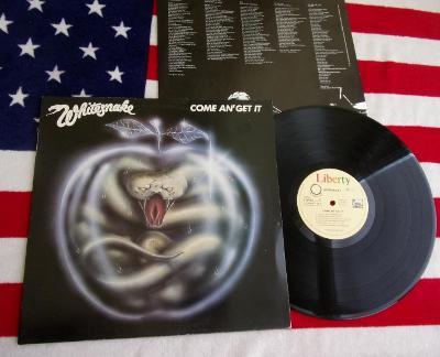 💥 LP: WHITESNAKE - COME AN' GET IT, Jako nové 1.press W. Germany 1981