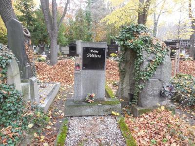 Praha Olšany - hrob