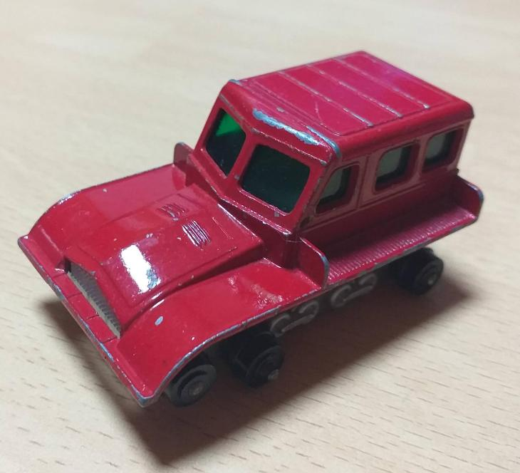 Matchbox-35B Snow Tractor - Modelářství