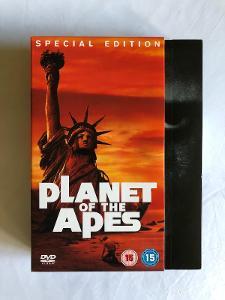 Planeta opic - kolekce 5 filmů + dokument - DVD (CZ titulky)
