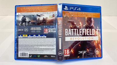 Hra PS4 / Playstation 4 Battlefield 1 Revolution edition se všemi DLC