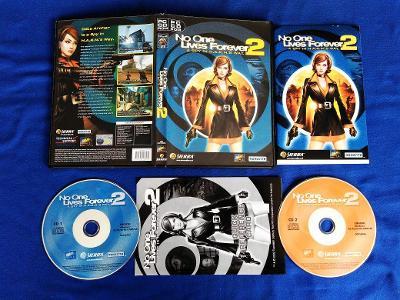 PC - NO ONE LIVES FOREVER 2 A SPY IN H.A.R.M.S WAY (retro 2002) Top