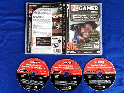 PC - OPERATION FLASHPOINT Complete 3x hra (retro 2001-2002) Top