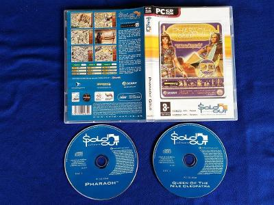 PC - PHARAOH GOLD + QUEEN OF THE NILE CLEOPATRA expans(retro 1999) Top