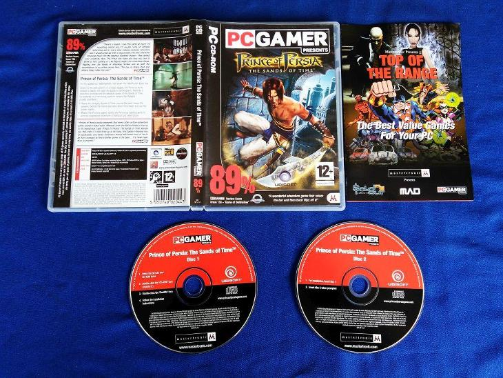 PC - PRINCE OF PERSIA THE SANDS OF TIME (retro 2003) Top - Hry