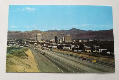 Pohled  Reno - Nevada