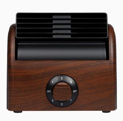 Stolní ventilátor - tichý, retro bezlistový ventilátor