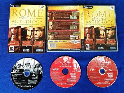 PC - ROME TOTAL WAR ANTHOLOGY (retro 2007) Top