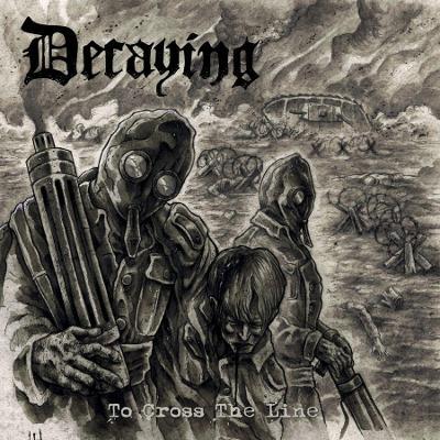 DECAYING - To Cross the Line 12 LP BLACK vinyl