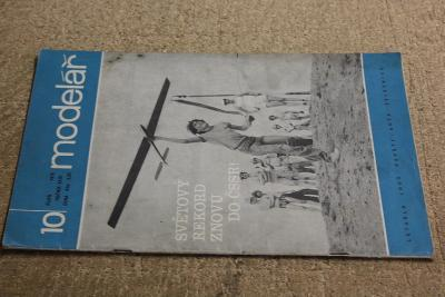 STARÝ ČASOPIS MODELÁŘ ROK 1978  Č. 10